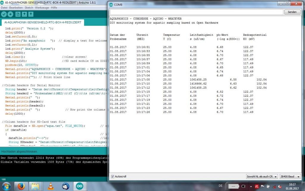 01_Screenshot Serial Monitor